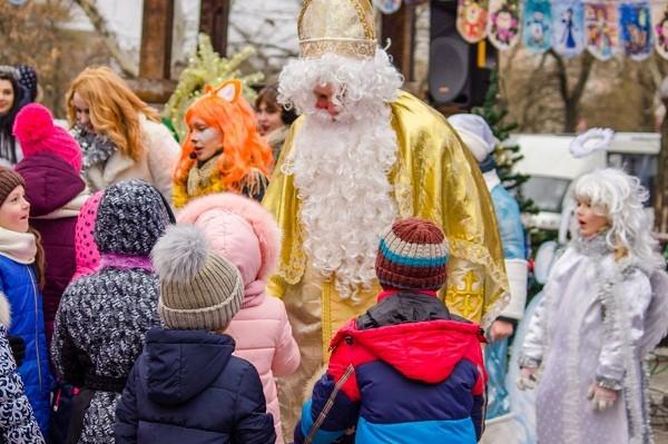 В парке «Киевская Русь» отпразднуют День святого Николая