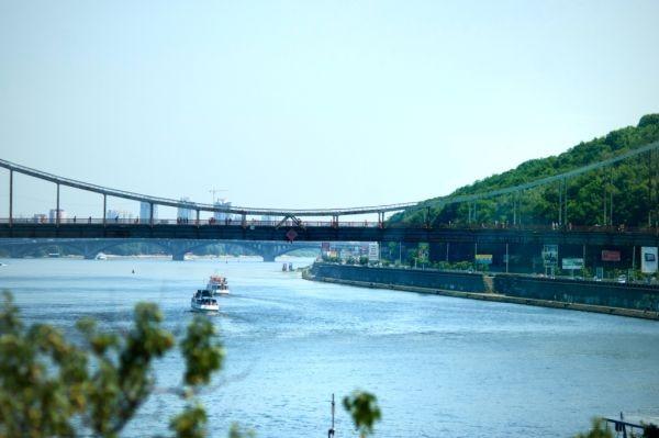 Температура воды в Днепре возле Киева поставила антирекорд лета
