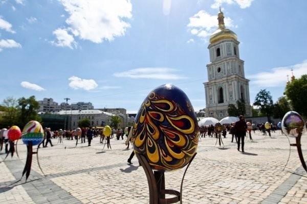 В центре Киева пройдет Всеукраинский фестиваль писанок