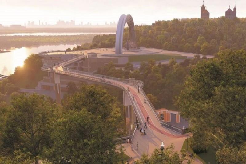 Стало известно, когда в Киеве откроют новый пешеходный мост