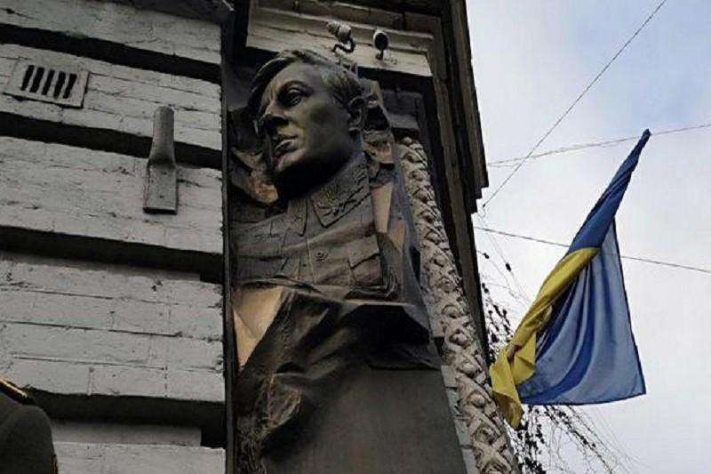В Киеве открыли барельеф, посвященный Симону Петлюре