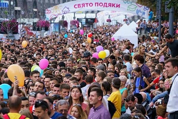 На Крещатике масштабно отметят Всеукраинский День Благодарения