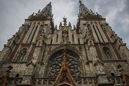 Костел Святого Николая в столице получил новую подсветку
