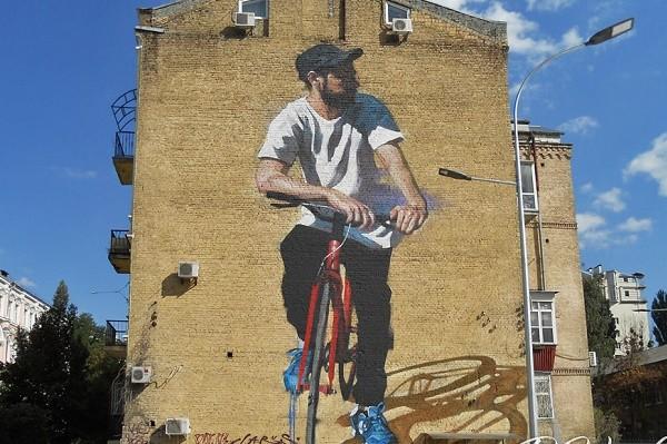 В столице состоится велоэкскурсия «Муралы центра Киева»