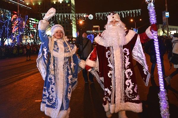В Киеве впервые пройдет новогодний парад