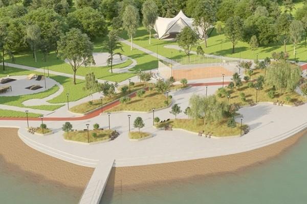 Территория вокруг озера Лебединое станет фитнес-парком