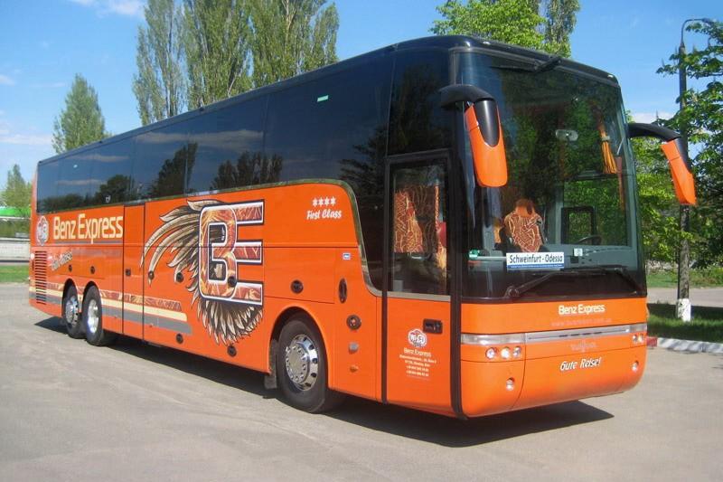 Автобус Киев — Ганновер от Benz Express: путешествия — это просто
