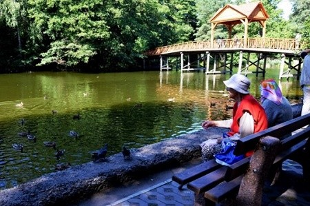 Парк «Пуща-Водица» открыли после капремонта