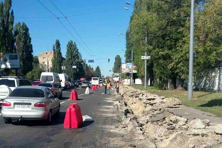 Дорожники приступили к капитальному ремонту улицы Телиги