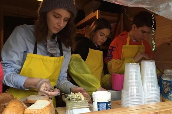 На Харьковском массиве открылся домик бесплатного питания