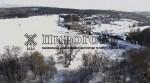 Волшебная зима в Пирогово с высоты птичьего полета