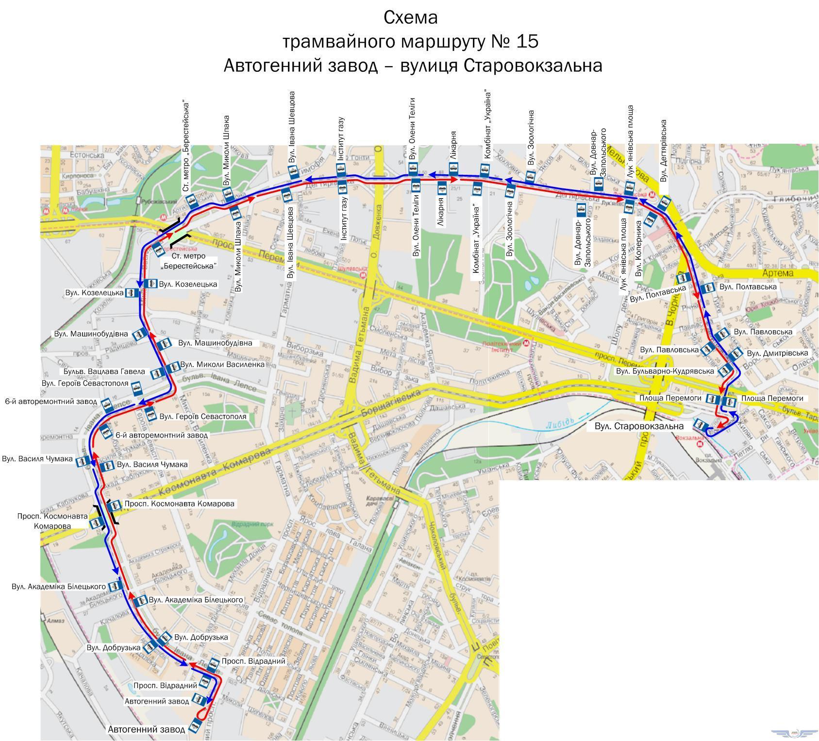 Маршрут троллейбус 39 схема